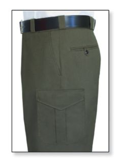 Womens Forest Green T-11 Deluxe Tactical Trouser Serge Weave 70/28/2 Poly/Rayon/Lycra®;-Flying Cross