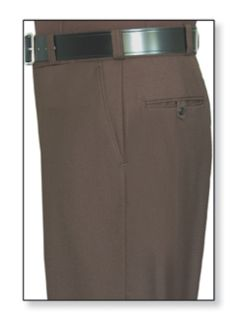 Mens Dark Brown T-1 Deluxe Tactical Trouser, 70/28/2 Poly/Rayon/Lycra®;, Serge Weave-Flying Cross