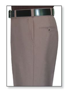 Womens Pink Tan T-1, 75/25 Polyester/Wool Trouser, Serge Weave-