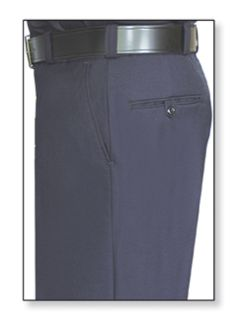Mens LAPD Navy T-1 Trouser, 75/24/1 Polyester/Wool/Lycra®;, Serge Weave-