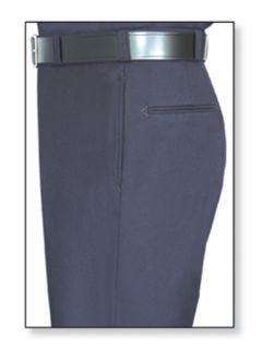Womens LAPD Navy T-6 Trouser, 75/24/1 Polyester/Wool/Lycra®;, Serge Weave-Flying Cross