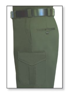 Womens O.D. Green T-11 Twill Trouser 65/35 Poly/Cotton-Flying Cross
