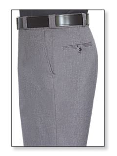 Womens Heather Grey T-1 Tropical Weave 100% Visa®; System 3 Polyester Trouser-