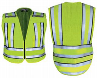 Hivis Yellow Pro Series Safety Vest With Hivis Yellow Band-