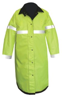Reversible Raincoat With Proline Black/Hi-Viz Yellow-Flying Cross