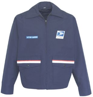 Windbreaker Postal Blue