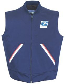 Postal Vest Navy Blue-Flying Cross