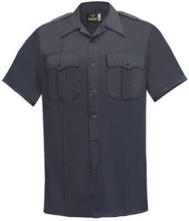 Mens LAPD Navy Short Sleeve 65/35 Polyester/Coolmax®; Shirt-