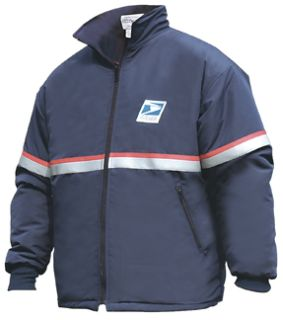 Usps Heavy Weight Fleece Zip-In Jacket Liner Navy Blue-Flying Cross
