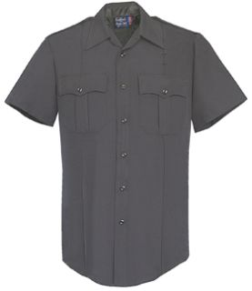 Mens Black Short Sleeve 100% Visa®; System 3 Polyester Shirt-