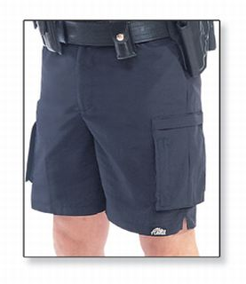 A240NV Alitta High Impact Shorts LAPD Navy-Flying Cross