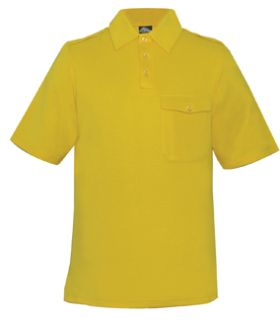 Alitta Polo Shirts Gold-