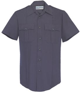 Mens LAPD Navy Short Sleeve Security Style 100% Visa®; System 3 Shirt-