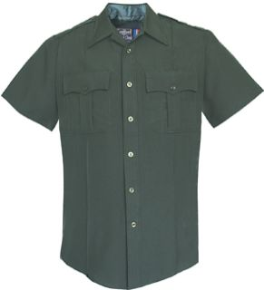 Mens Spruce Green Short Sleeve Security Style 100% Visa®; System 3 Shirt-