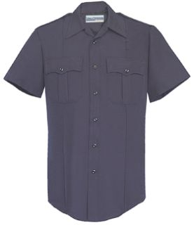 Womens LAPD Navy Short Sleeve Security Style 100% Visa®; System 3 Shirt-