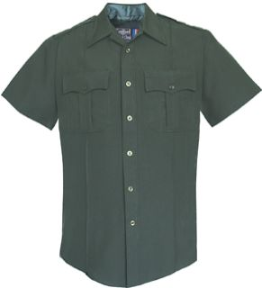 Womens Spruce Green Short Sleeve Security Style 100% Visa®; System 3 Shirt-Flying Cross