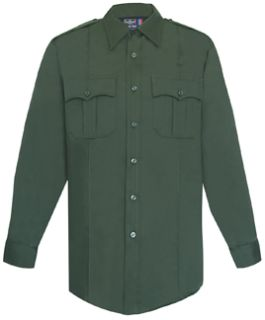 Men's Spruce Green Long Sleeve Security Style 100% Visa®; System 3 Shirt