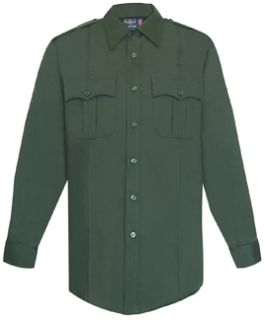 Womens Spruce Green Long Sleeve Security Style 100% Visa®; System 3 Shirt
