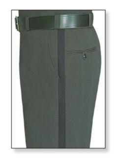 Mens Spruce Green T-1 Trouser, 100% Visa®; System 3 Polyester, Gabardine Weave-