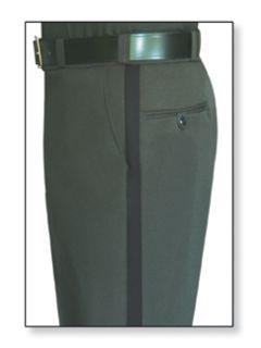 Womens Spruce Green T-1 Trouser, 100% Visa®; System 3 Polyester, Gabardine Weave-