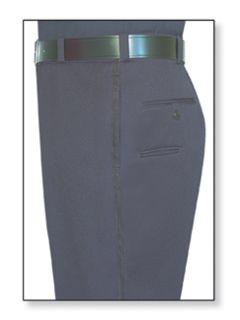 Mens Navy Blue T-6 Gabardine 100% Visa®; System 3 Polyester Trouser-