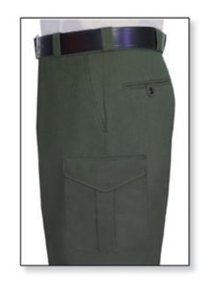 Mens Spruce Green T-11 Twill Trouser 65/35 Poly/Cotton-