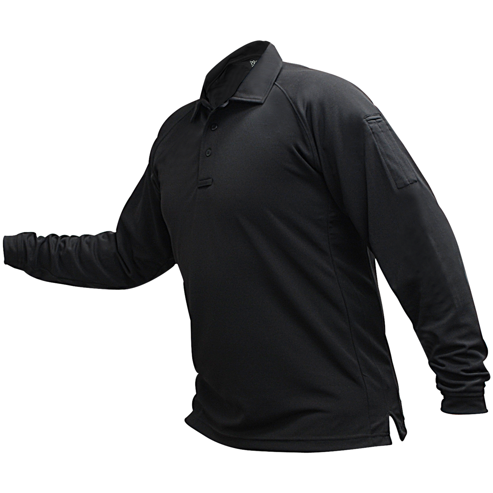 Men's Coldblack® Long Sleeve Polo-Vertx
