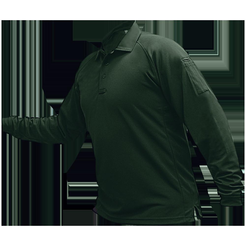 Men's Coldblack® Long Sleeve Polo