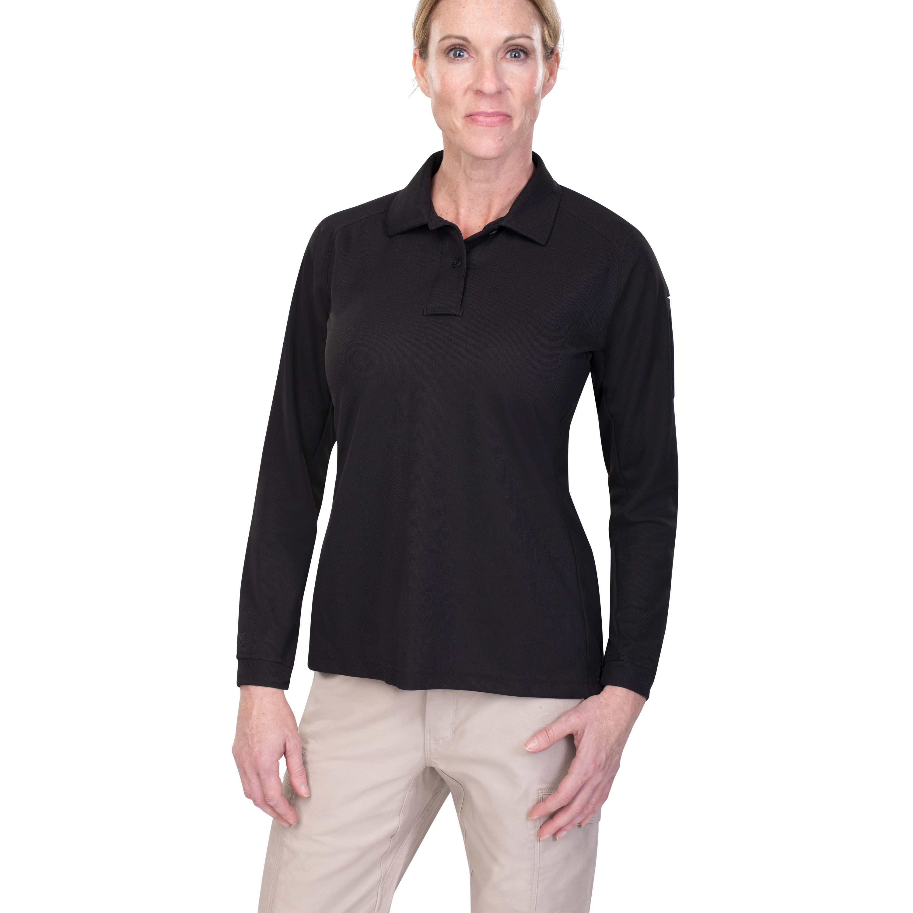 Vertx Womens Coldblack® Long Sleeve Polo-Vertx