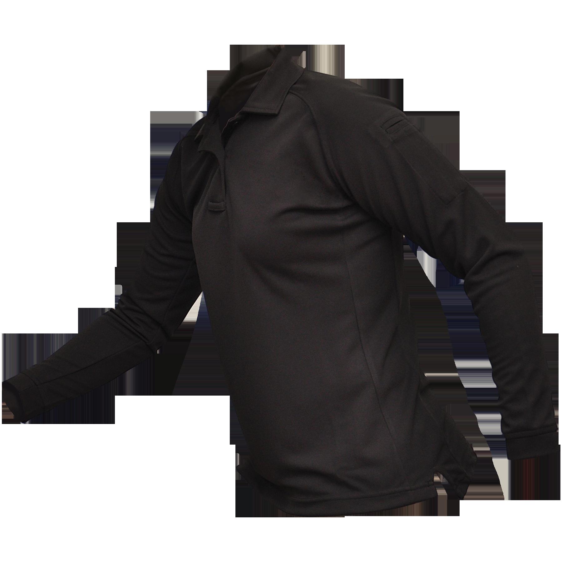 Vertx Womens Coldblack® Long Sleeve Polo-Vertx