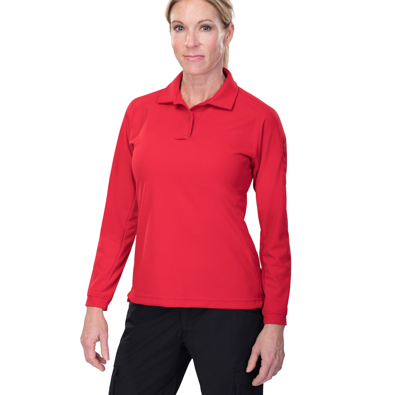 Vertx Womens Coldblack® Long Sleeve Polo