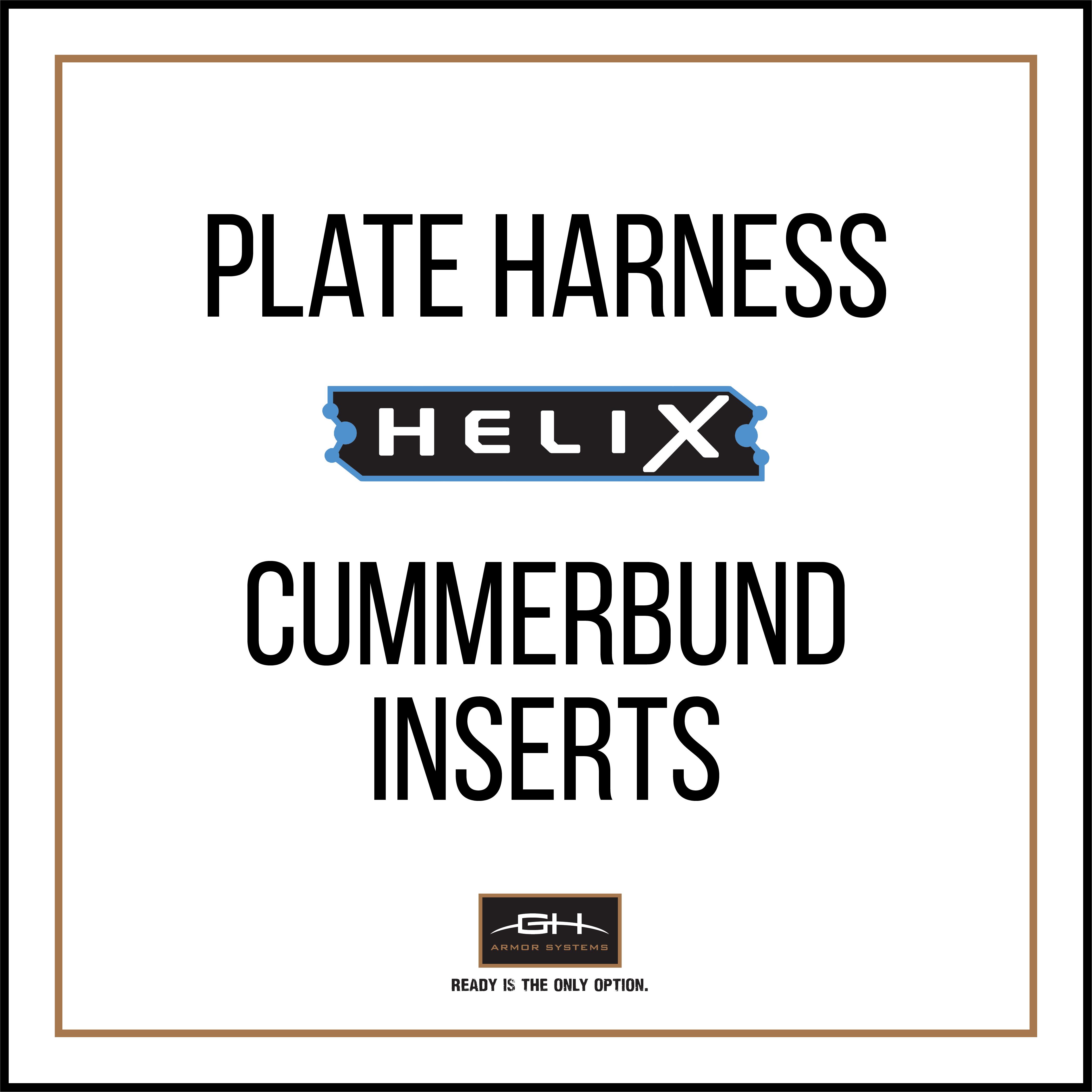 PH2 Cummerbund Ballistic Insert - HeliX Level IIIA