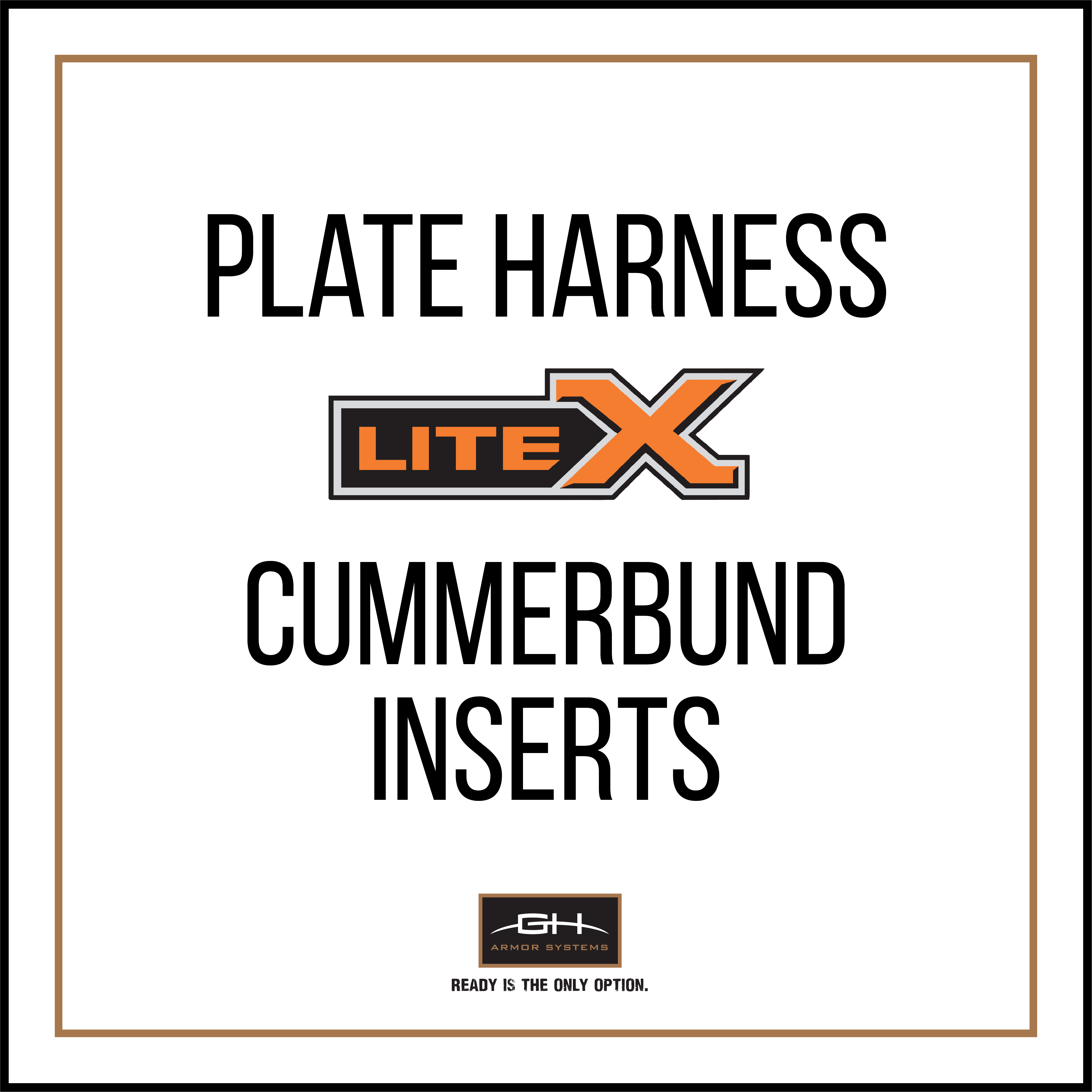 PH2 Cummerbund Ballistic Insert - LiteX Level IIIA