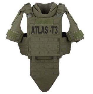GH-AT3-VEST-CRR Atlas T3 Tactical Plate Carrier (No Panels)-