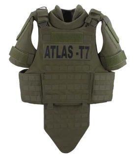 GH-AT7-VEST-CRR Atlas T7 Tactical Vest Carrier (No Panels)