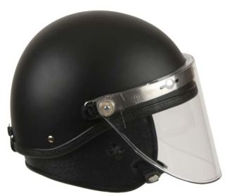GH-HR1-TAC1 Riot Helmet - Tactical Style¸ Faceshield¸ Neck Protector-GH Armor Systems