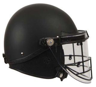 GH-HR1-TAC3 Riot Helmet - Tactical Style¸ Faceshield¸ Beak Seal¸ Steel Face Guard