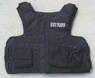 GH-K9-L3A K-9 Handler Tactical Vest - Lite IIIA FO (Util¸ Flash/Pen¸ Radio¸ Dbl Mag¸ Hydration)