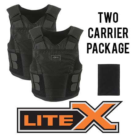 GH-LITEX-II-M-2 LiteX II LX02 Package (Male)-GH Armor Systems