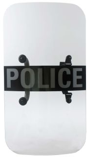 GH-SHR1-24X48-B Riot Shield - 24x48'¸ 0.25' Thick¸ Clear Polycarbonate