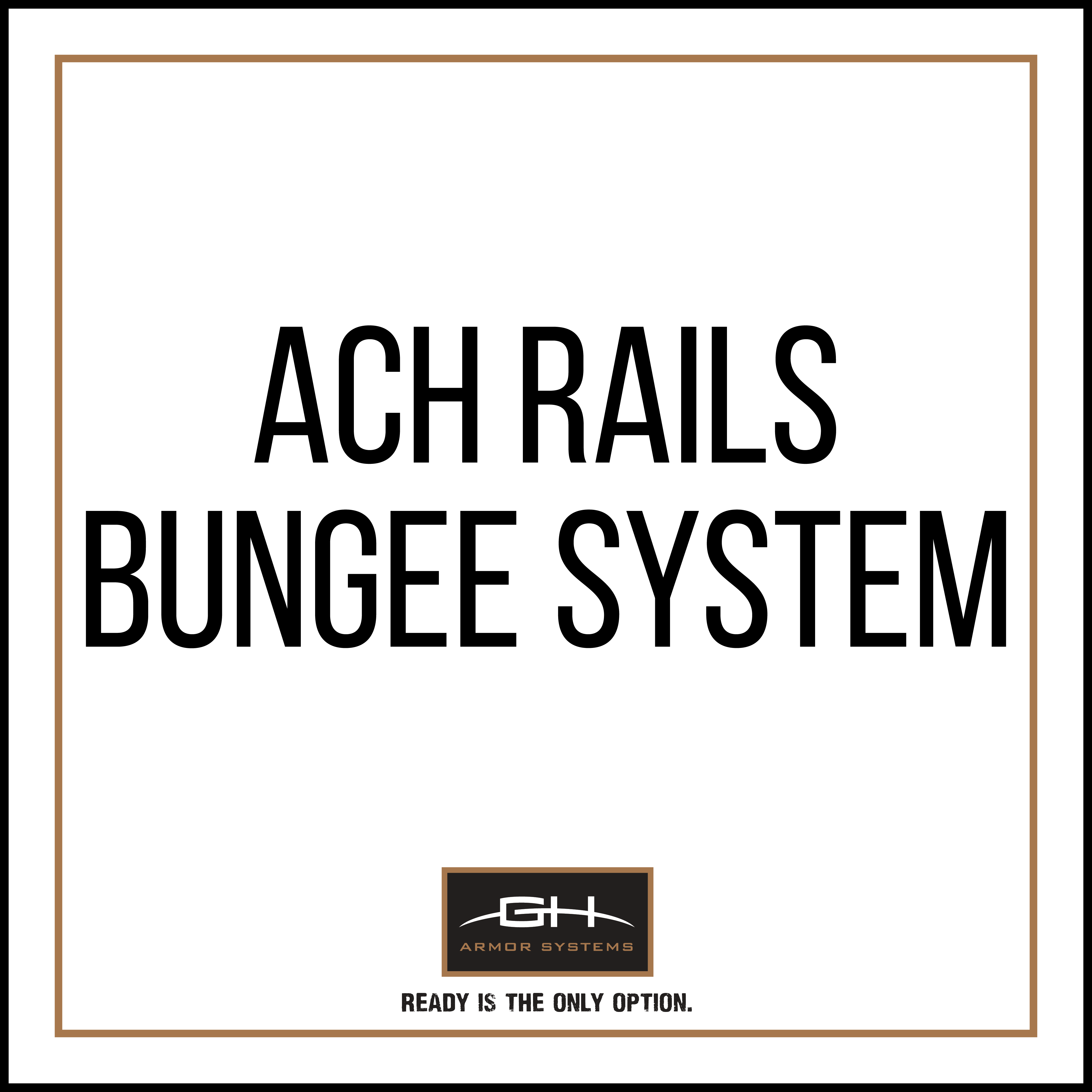 GH-HB1-ACH-BNG Bungee System for ACH Rails