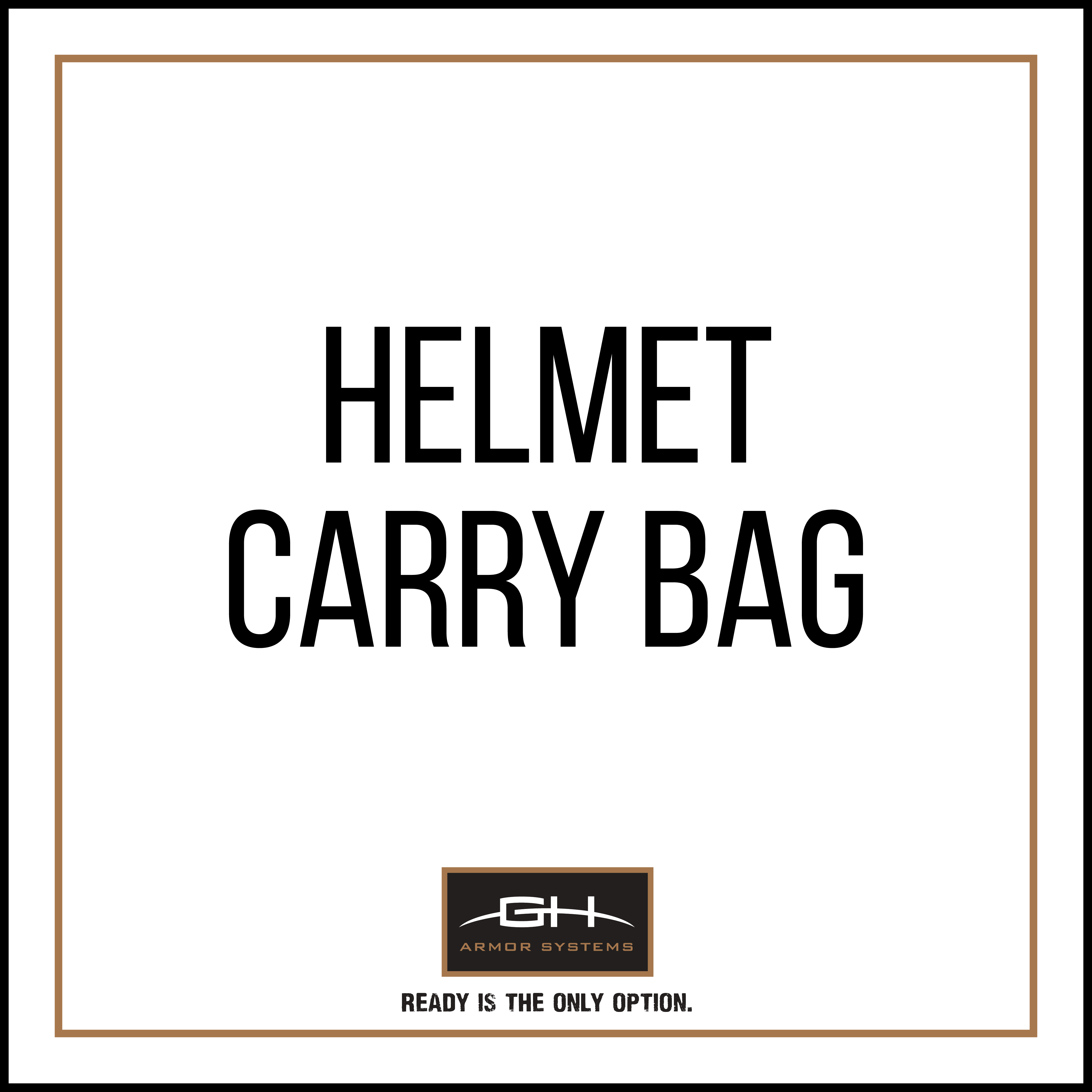 GH-HB1-BAG Helmet Carry Bag