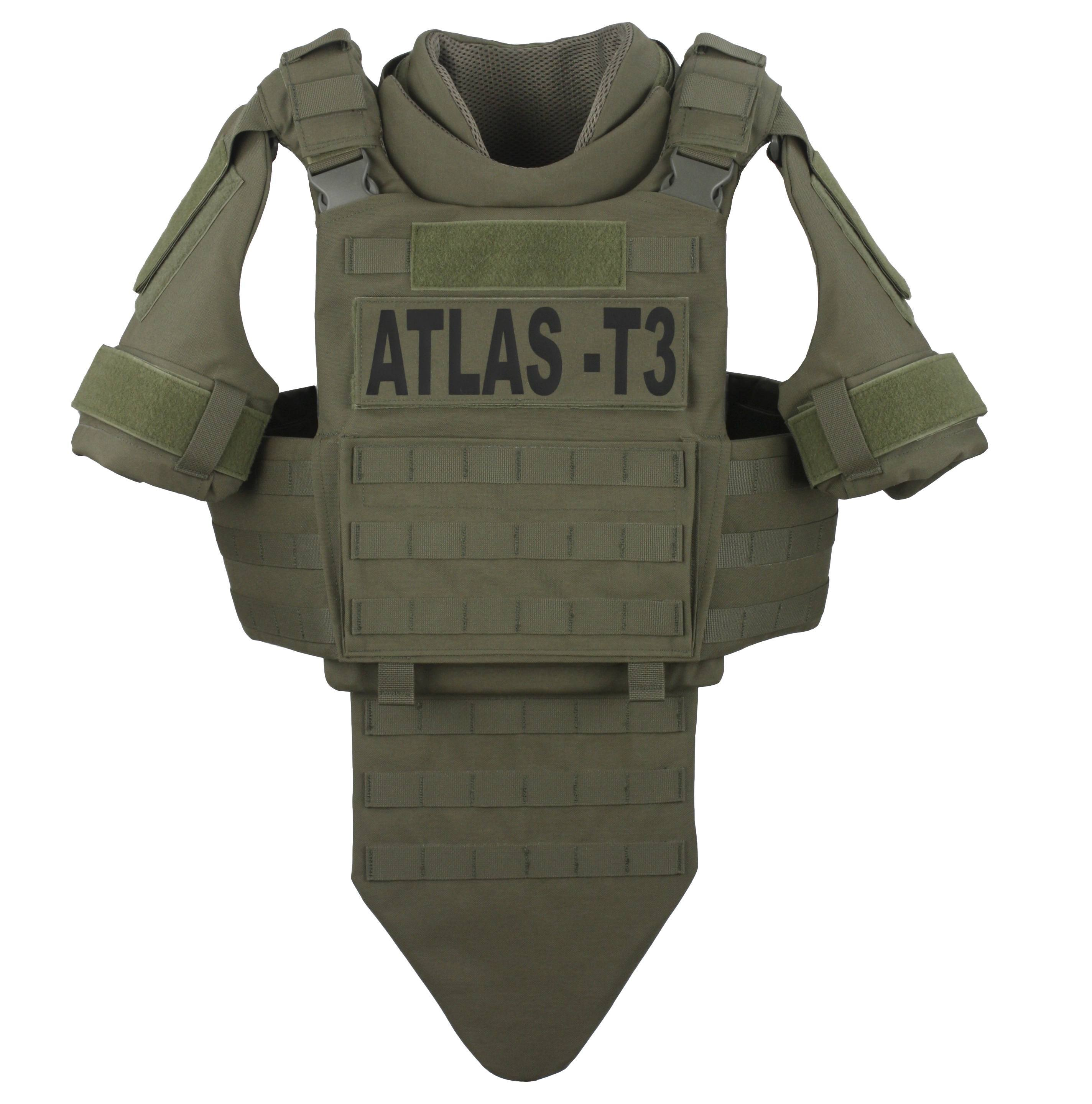 GH-AT3-VEST-LX3A Atlas T3 Ballistic Panels - LiteX IIIA-