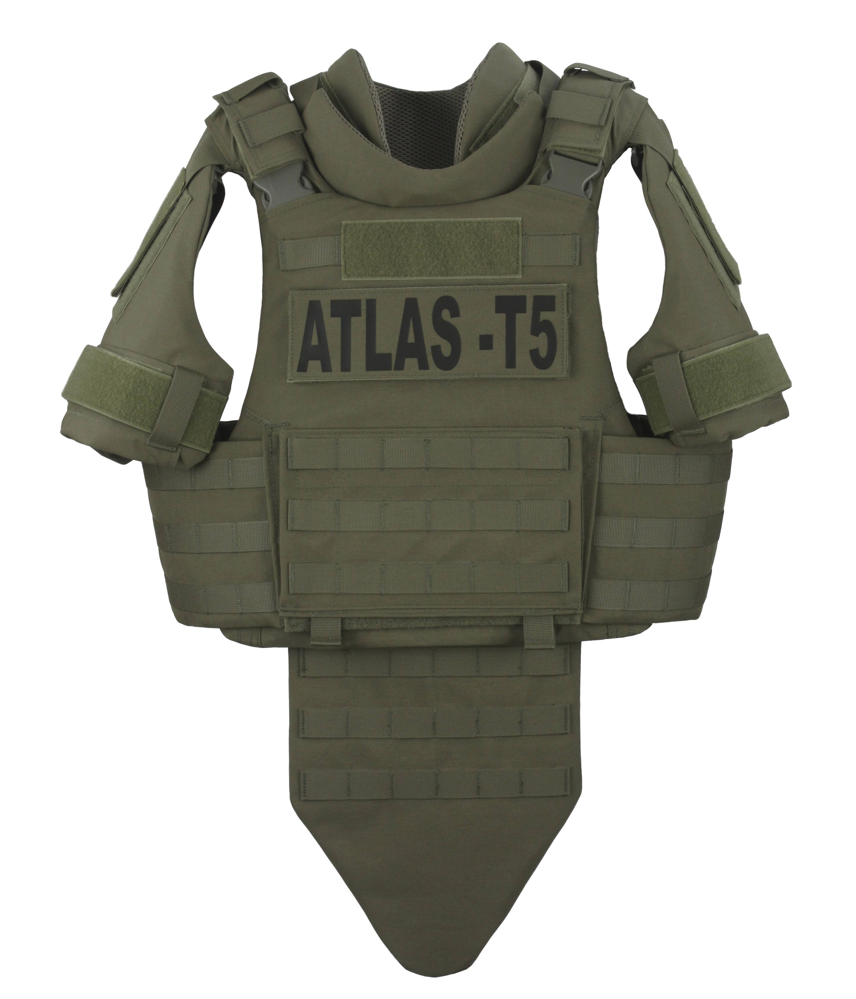 GH-AT5-VEST-LX3A Atlas T5 Ballistic Panels - LiteX IIIA