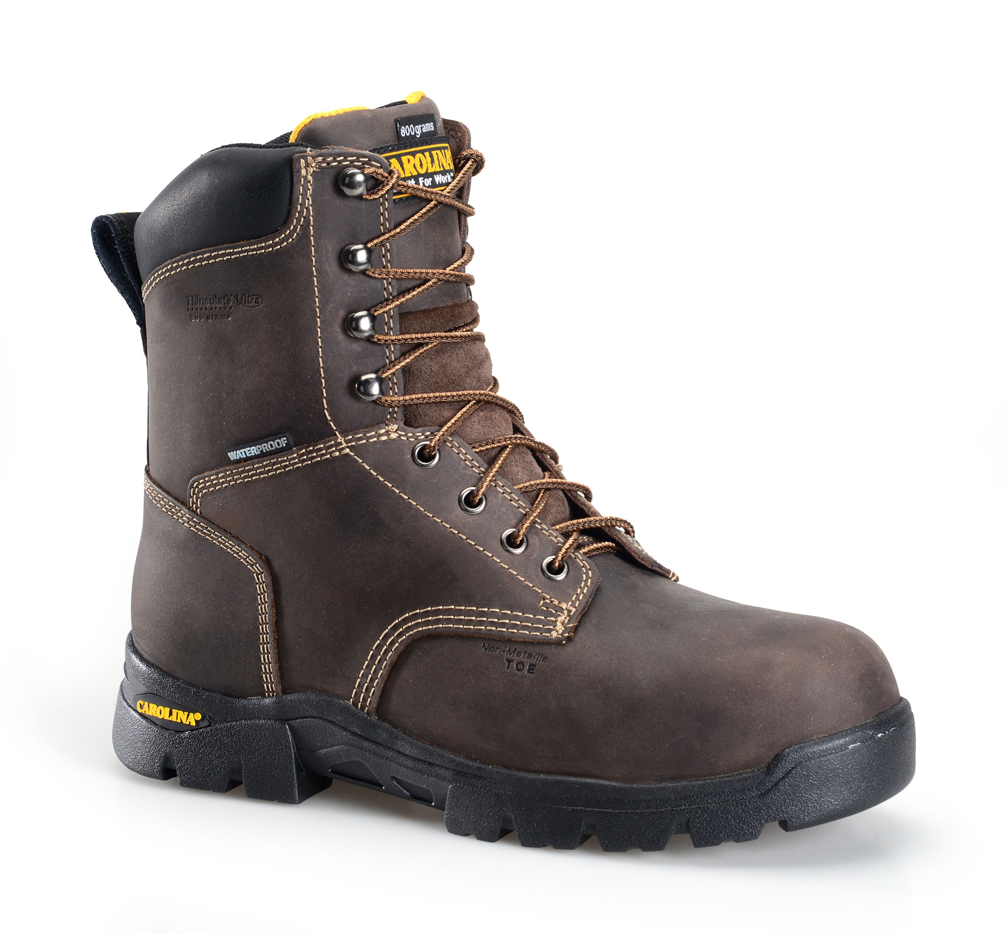 "Carolina 8"" Composite Toe Insulated Work Boot"