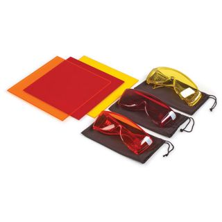 Wrap Around Goggles (Red)-
