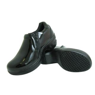 461 Slip on Zipper Patent Black Women-Genuine Grip