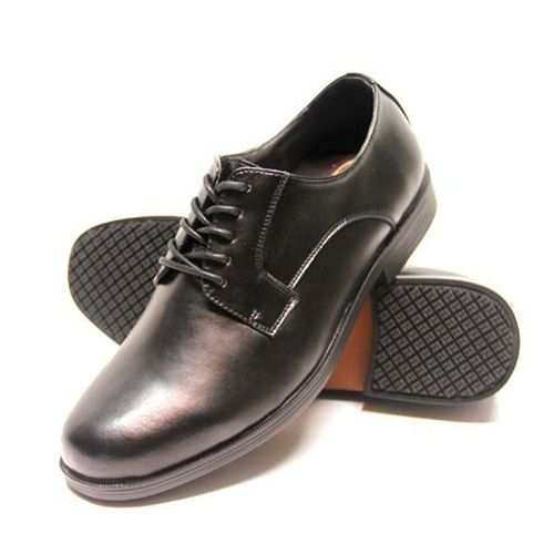 Genuine Grip Mens Slip-Resistant Oxfords Dress Work Shoe #9540 - Black-