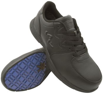 S Fellas by Genuine Grip Mens #5020 Comp Toe Athletic Work Shoes - Black-S Fellas by Genuine Grip