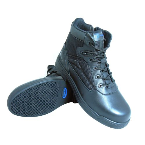 S Fellas by Genuine Grip Mens #5060 Composite Toe Thunderbolt Work Boot - Black-S Fellas by Genuine Grip